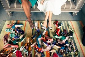 Sarah Jessica Parker se met en scène avec the Coveteur pour ses chaussures SJP