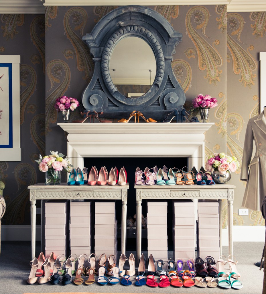Un dressing de chaussure à la Carrie Bradshaw