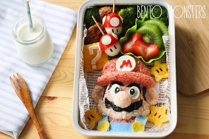 Une Lunchbox avec Mario