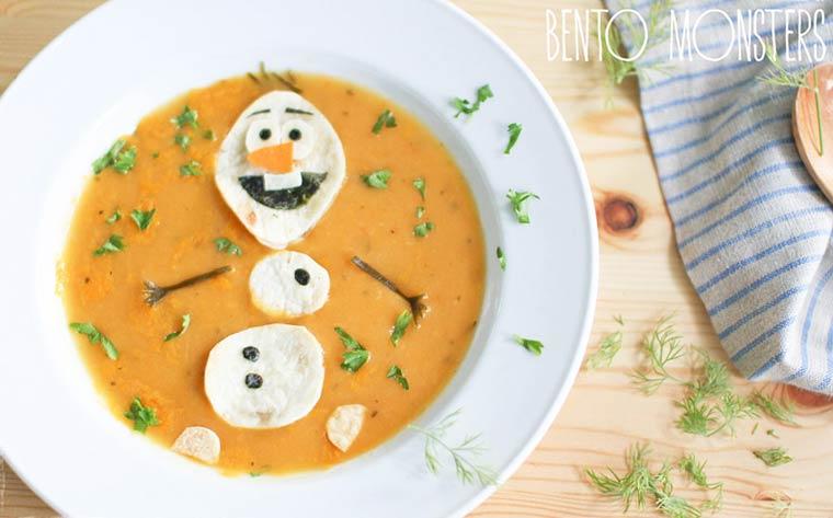 Olaf, le plus célèbre des bonhommes de neige