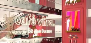 Vitra ouvre un café design sous l'atrium du Printemps à Paris