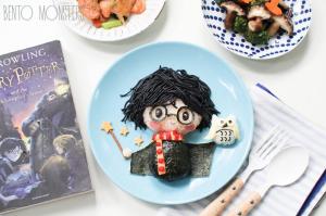 Harry Potter et sa chouette à retrouver sur le site de bentomonsters
