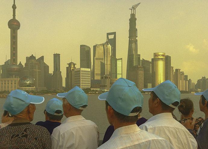 Leslie Moquin nous montre sa vision de la ville de Shanghaï