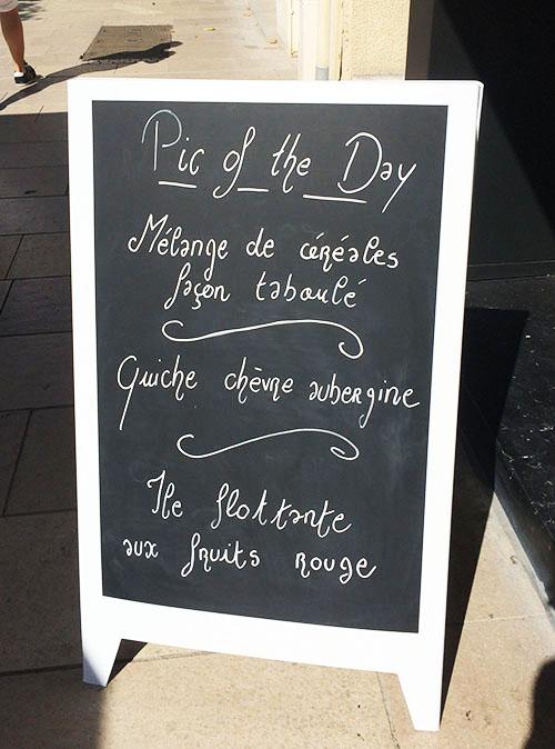 tous les jours, le Daily PIC propose une formule du jour à -15€