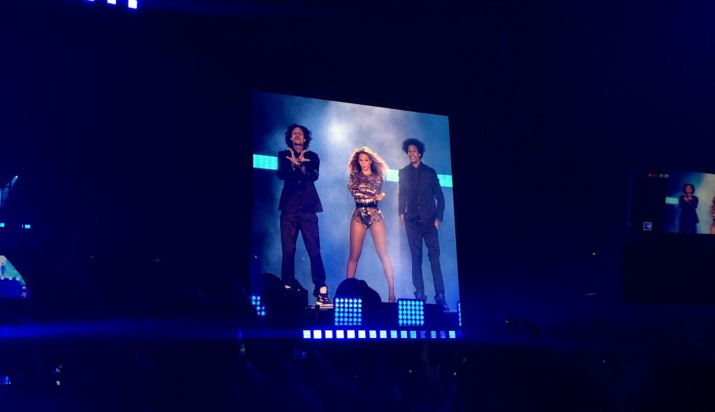 Beyoncé et les Twins