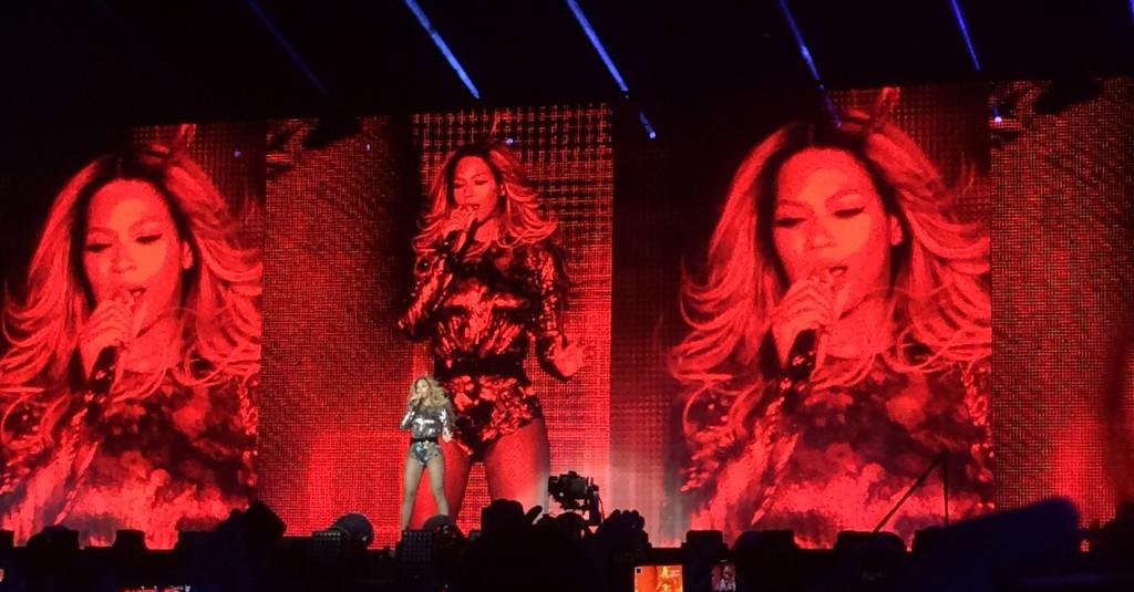 Beyoncé a enflammé le stade de France