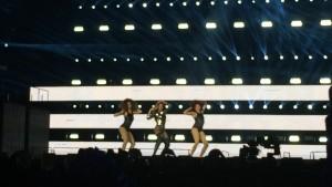 Beyoncé et ses danseuses sur Single Ladies