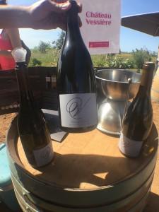 les vignerons ont pu échanger avec les promeneurs sur les arômes de leurs vins