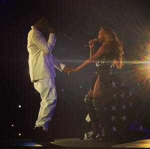 Jay Z et Beyoncé au stade de France un final sur Part II