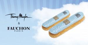 La maison Fauchon s'associe à Thierry Mugler et présente un éclair au goût du parfum