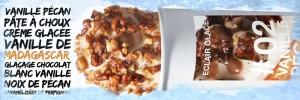 Christophe Adam présente deux nouvelles recettes d'éclair glacé