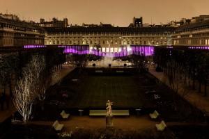 Ikea met en place Northern Lights au Palais Royal