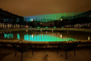 35000 LEDs ont été nécessaires pour recréé des Aurores Boréales