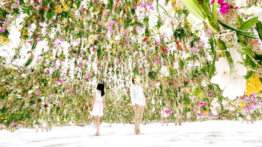 Une véritable bouffée d'air en plein Japon grâce à TeamLab