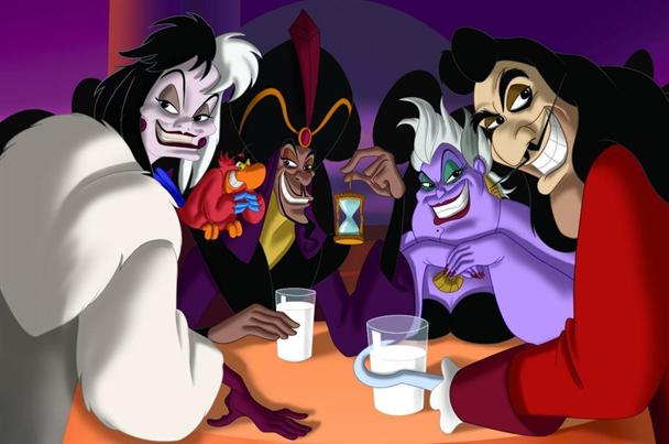 Les personnages diaboliques de Disney débarquent à Arludik