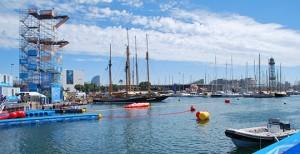 barcelone accueille les championnats du monde de natation et une nouvelle épreuve le plongeon de haut vol