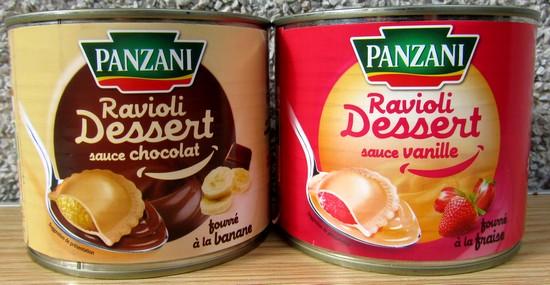 Pansant présente des raviolis sucrés version chocolat banane et vanille fraise