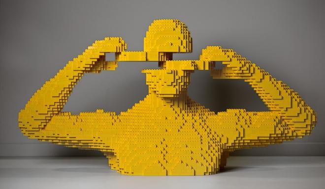 Plus de 100 oeuvres construites à base de lego vous attendent à l'exposition The Art Of The Bricks