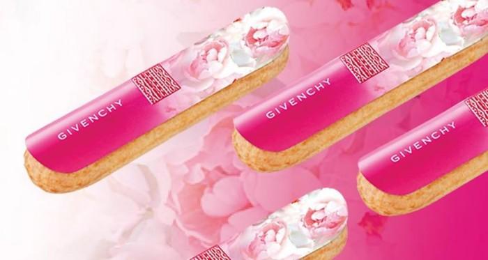 Fauchon dévoile un éclair saveur Very Irrésistible en association avec la maison Givenchy