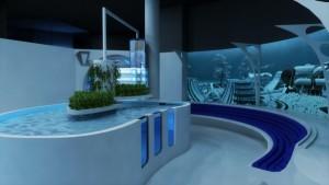 Un bassin à la fois pédagogique et interactif qui embarque un système d'aquaponie