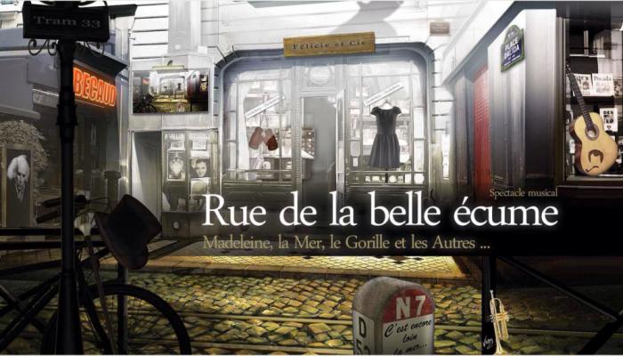 La Rue de la Belle Ecume est à venir découvrir jusqu'au 29 août au théâtre Dejazet à Paris