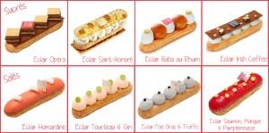 La maison Fauchon propose 36 recettes gourmandes et uniques durant l'Eclair Week à Paris