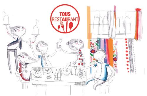 Pour la 6 année consécutive l''opération Tous au Restaurant ouvre les portes de la gastronomie au plus grand nombre