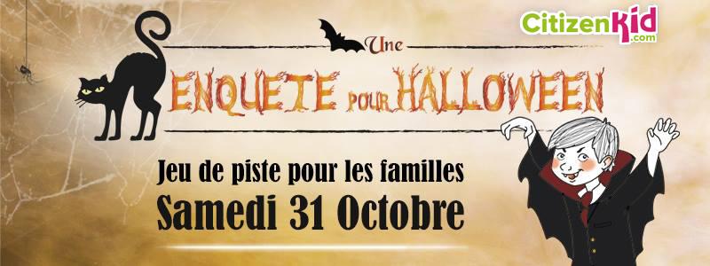 Citizen Kids vous donne rendez-vous en famille samedi 31 octobre pour une chasse aux sorcière intrigantes et mystérieuse à Montpellier et 9 autres villes en France !
