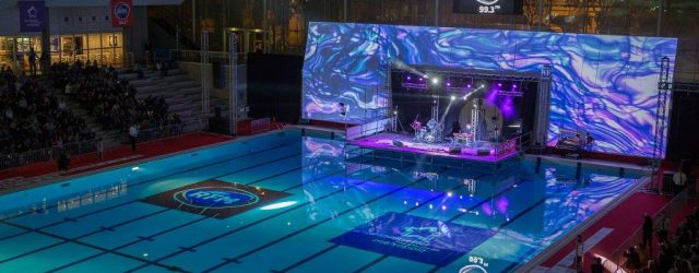 photo prise lors du concert RFM à la piscine antigone