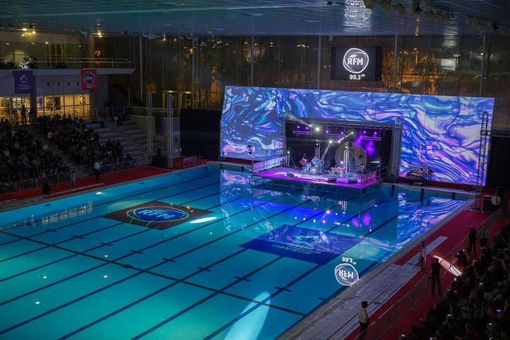 un concert rfm gratuit la piscine antigone de. Black Bedroom Furniture Sets. Home Design Ideas