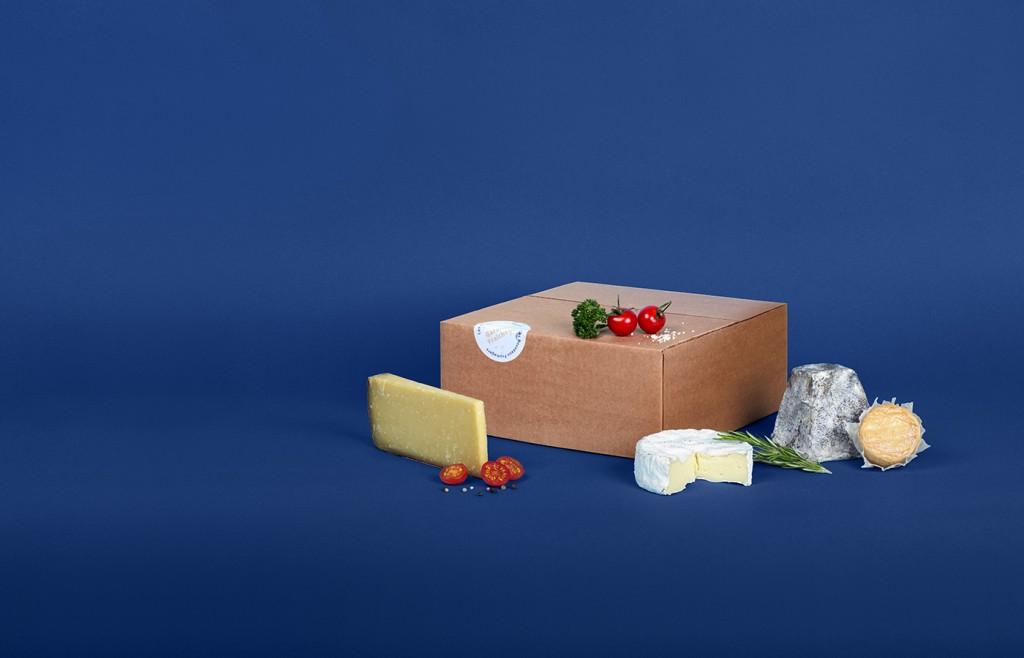 Tous les mois, recevez une sélection de 4 fromages avec Les Nouveaux Fromagers