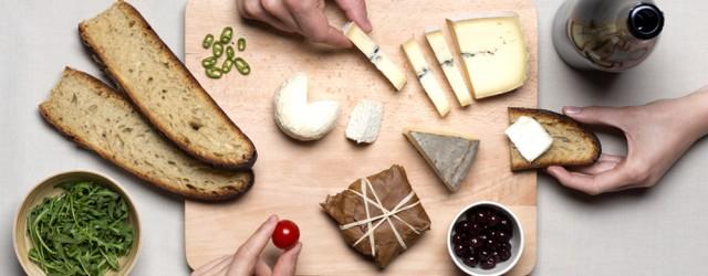 La box les Nouveaux Fromagers propose la livraison d'une sélection de 4 fromages choisi avec soin tous les mois