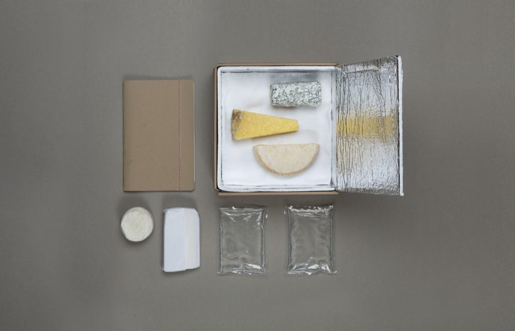 Les fromages proposés par les nouveaux fromagers sont emballés avec soin pour garder leur fraicheur
