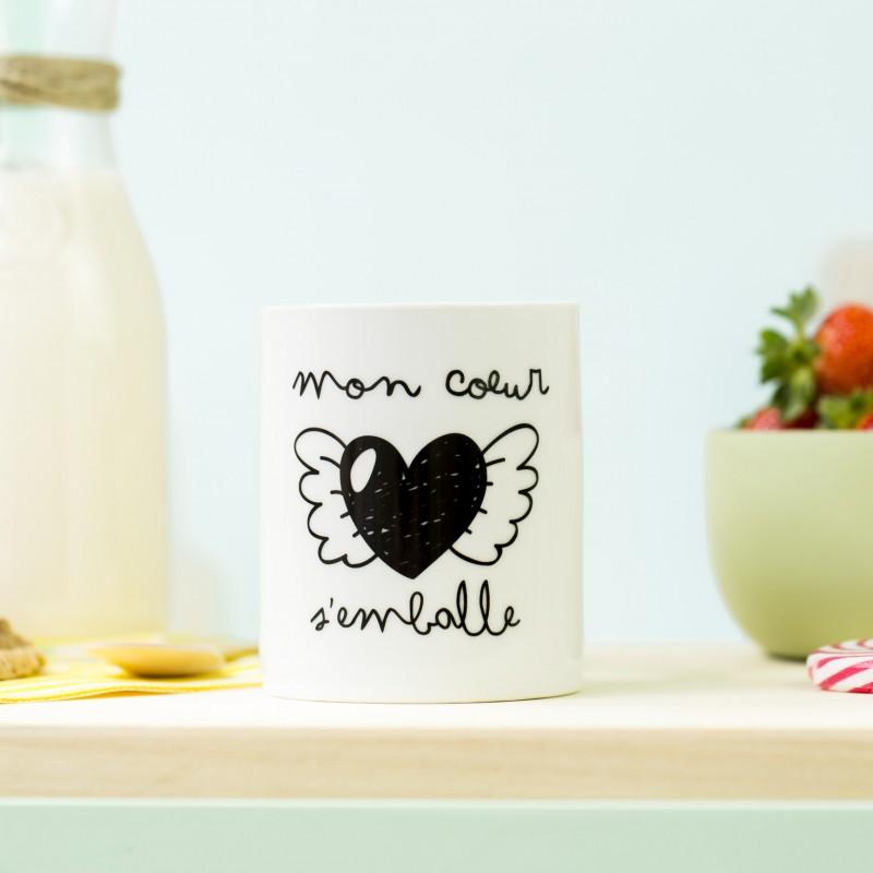 mug coeur mr wonderful