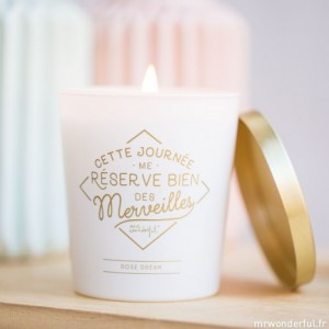 bougies merveilles mr wonderful