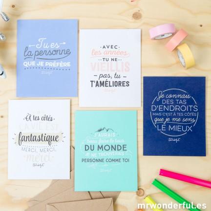cartes de voeux mr wonderful