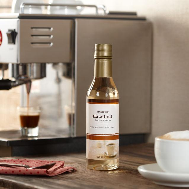 sirop de noisette pour boisson starbucks coffee
