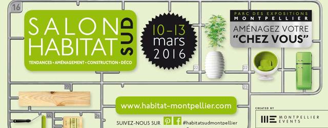 Du 10 au 13 mars venez à la rencontre de professionnels de l'aménagement et de la décoration au parc des expositions à Montpellier