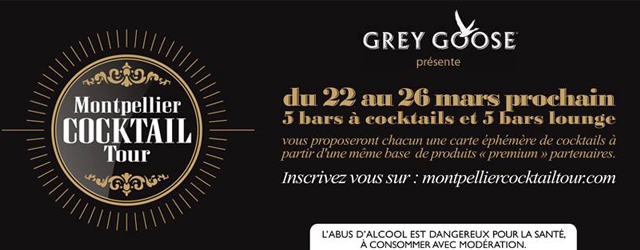 10 établissements participent aux Montpellier Cocktail Tour du 22 au 26 mars, proposant une carte de cocktail éphémère