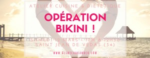 """Aline, du blog Aline Cook & Co organise un atelier diététique """"Opération Bikini"""" en présence Maurianne Rallier, diététicienne et de la marque Younique"""