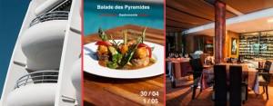 Après son succès en novembre dernier, la balade gastronomique des pyramides revient à la Grande Motte le 30 avril et 1er mai prochain