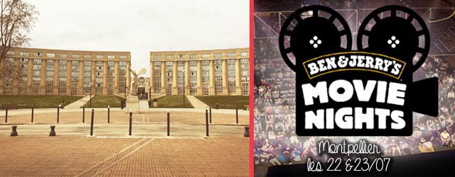 Ben & Jerry's lance sa tournée Movie Night et offrira des glaces gratuites à Montpellier les 22 et 23 juillet lors de deux projections gratuites !