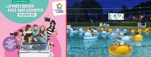 Du 1er au 31 août, la Métropole de Montpellier fait son cinéma dans les communes en plein air mais aussi dans deux piscines de Montpellier !