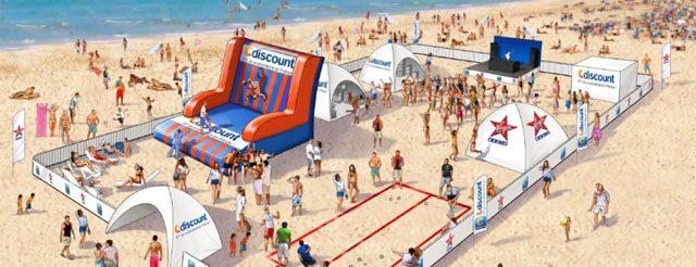 CDiscount et Virgin Radio lance la tournée des plages et s'installent à la Grande Motte le 31 juillet