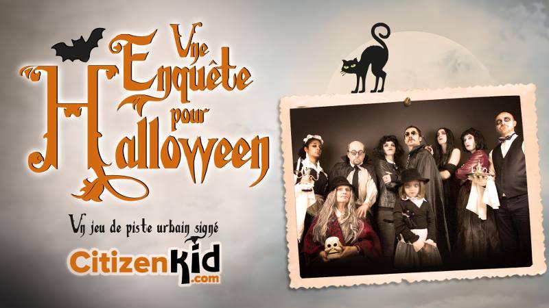CitizenKid vous propose une sortie en famille ludique pour Halloween à Montpellier et dans 11 villes en France