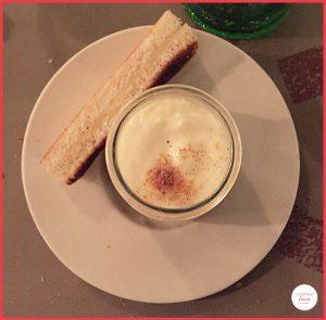 Yaourt de foie gras et espuma de lait au Terminal #1