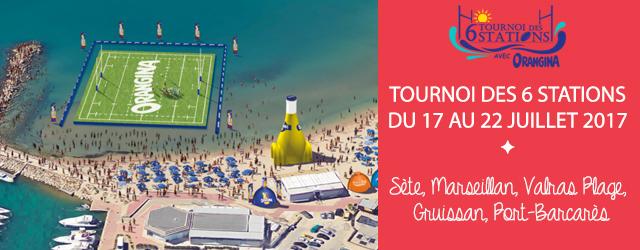 un terrain de rugby flottant va être mis en place sur la mer méditerranée du 17 au 22 juillet