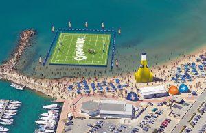 village, animation, dédicaces, cadeau, le tournoi des 6 stations passera par sète, palavas, marseillan, valras plage, gruissan et port barcarès