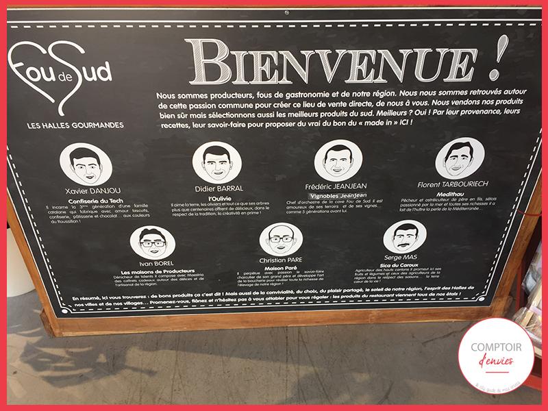 Fou de Sud est un concept novateur, fondé par7 producteurs, passionnés du terroir, amoureux des traditions,