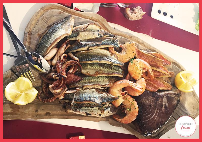 Chez Fou de Sud c'est l'assurance de manger des produits de qualités frais et préparé sur place